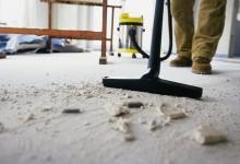 Как убрать после ремонта быстро и удобно