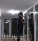 Мойка окон после ремонта. Разультат работы клининговой компании в Москве CleanHouse