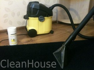 Химчистка ковров от специалистов компании Clean House