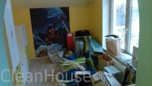 Уборка детской комнаты после ремонта специалистами клининговой компаниеи Clean House