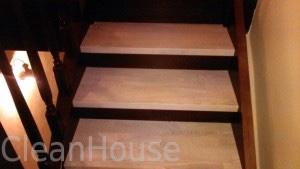 Лестница после уборки специалистами Clean House