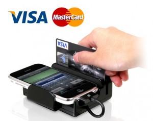 Мобильный терминал для оплаты услуг клининга картой