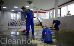 Уборка помещений после ремонта в Москве