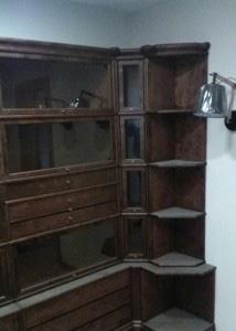 Мебель до уборки. после ремонта