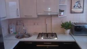 Домработница, кухня после уборки от компании CleanHouse