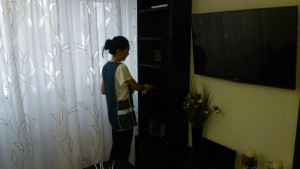 Домработница, уборка комнаты от компании CleanHouse