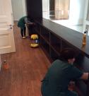 Уборка коттеджей после ремонта, мытье корпусной мебели от специалистов клининговой компании Clean House