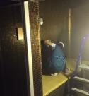 Уборка коттеджей после ремонта, мытье душевой от специалистов клининговой компании Clean House