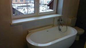 Уборка коттеджа, уборка в ванной комнате после ремонта - CleanHouse