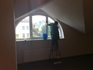 Уборка помещений после ремонта от специалистов клининговой компании Clean House