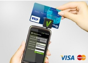Оплата услуг клининга банковской картой