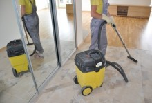 Как убрать строительную пыль?
