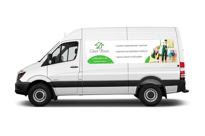 Мобильная бригада клининговой службы Clean House