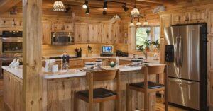 Уборка кухни загароднего дома от клининговой компании Clean House
