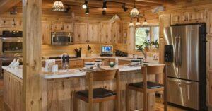 Уборка кухни загороднего дома от клининговой компании Clean House
